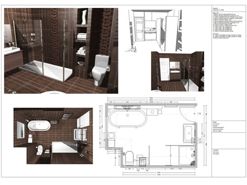 design plan for a bathroom renovation