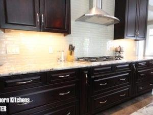 dark kitchen renovation calgary
