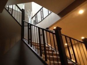 custom staircase renovation calgary