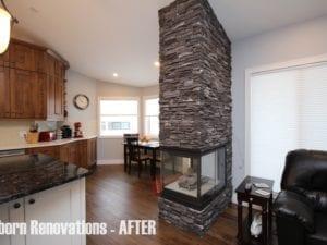 stone fireplace calgary