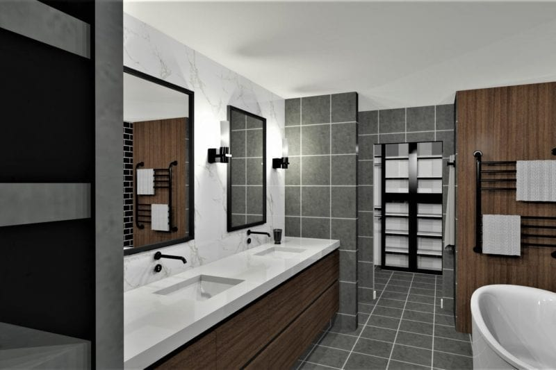 design bathrooms